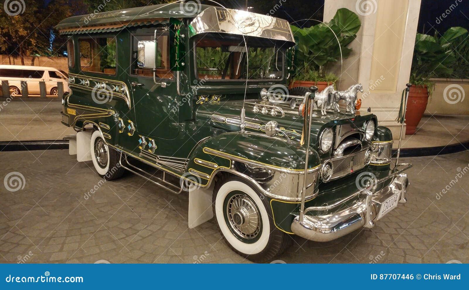 Jeep de Manille