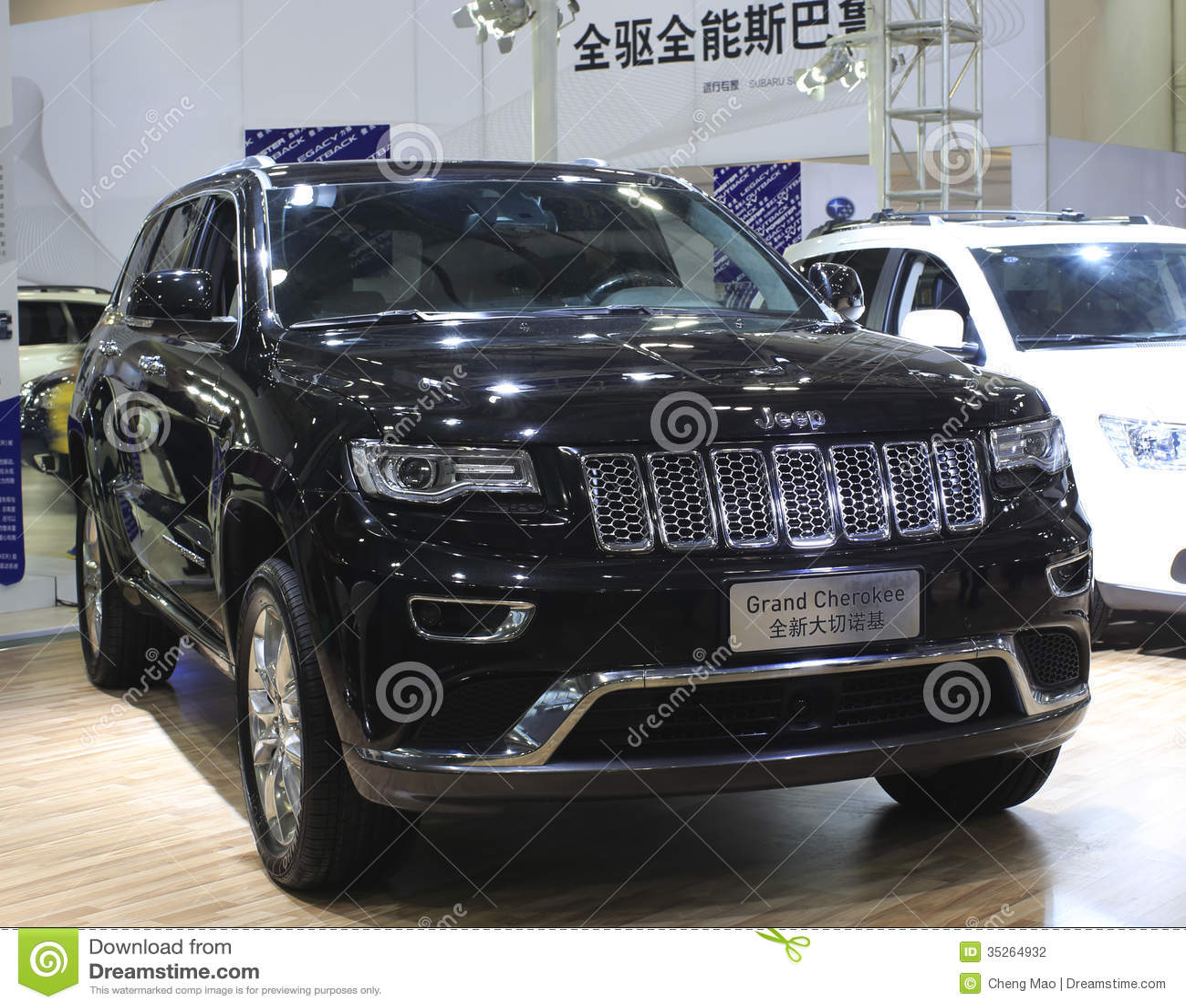 Jeep Grand Cherokee Car Editorial Photography - Image ...