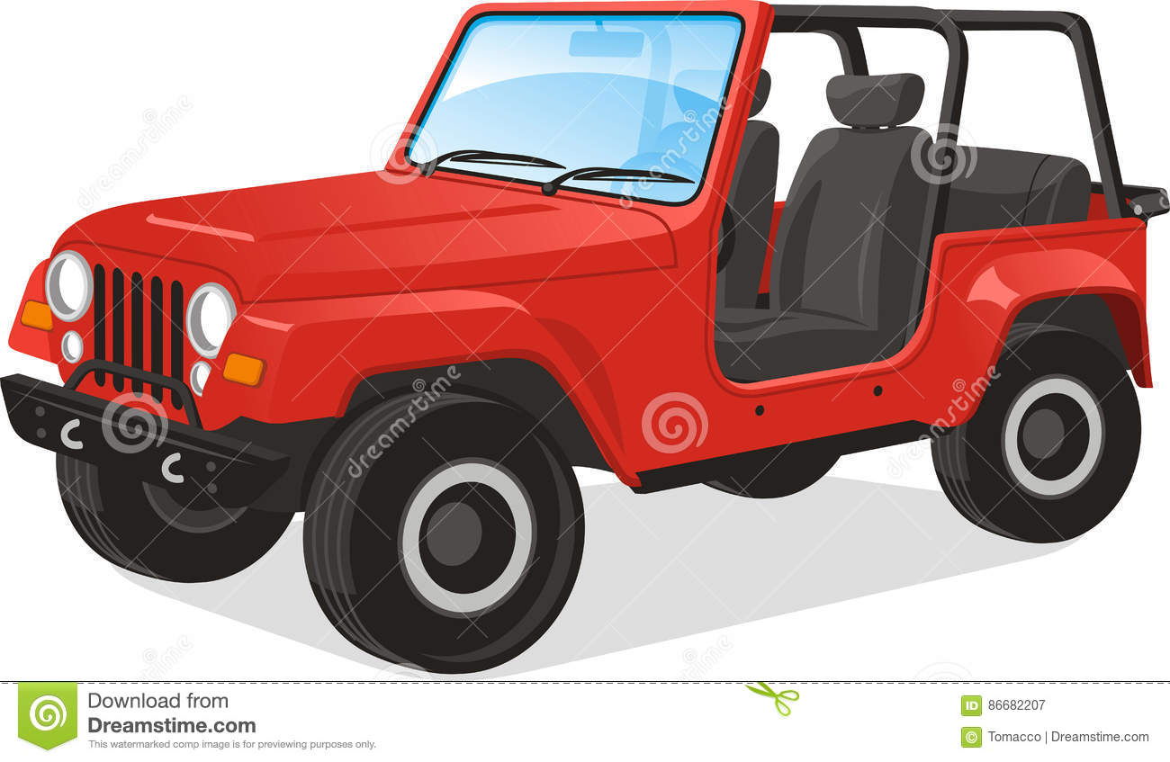 Jeep Cartoons, Illustrations & Vector Stock Images - 2390 ...