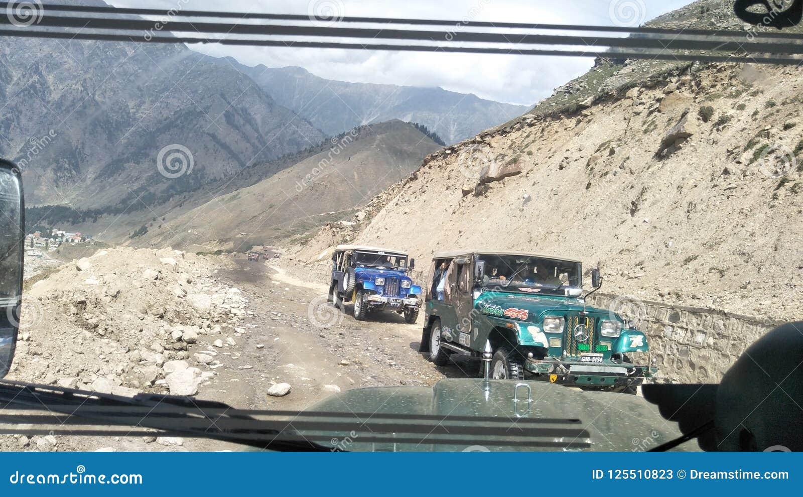 Jeep outre de roading