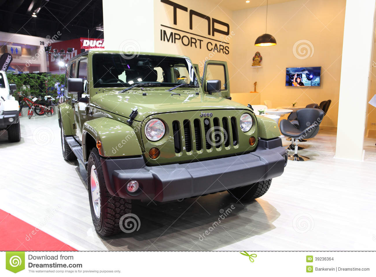 Jeep Sahara Wrangler Unlimited Car On Display Editorial Stock Image Expo