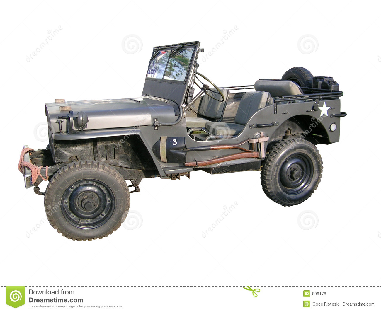 Jeep stary