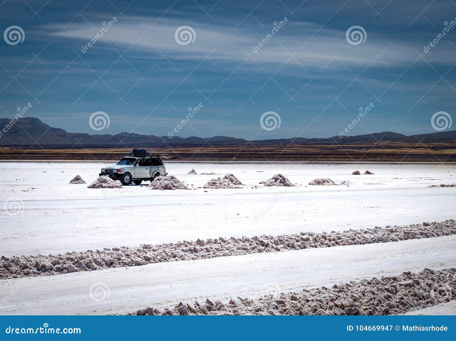 Jeep Tour Salt Flats en Salar de Uyuni Desert Bolivia