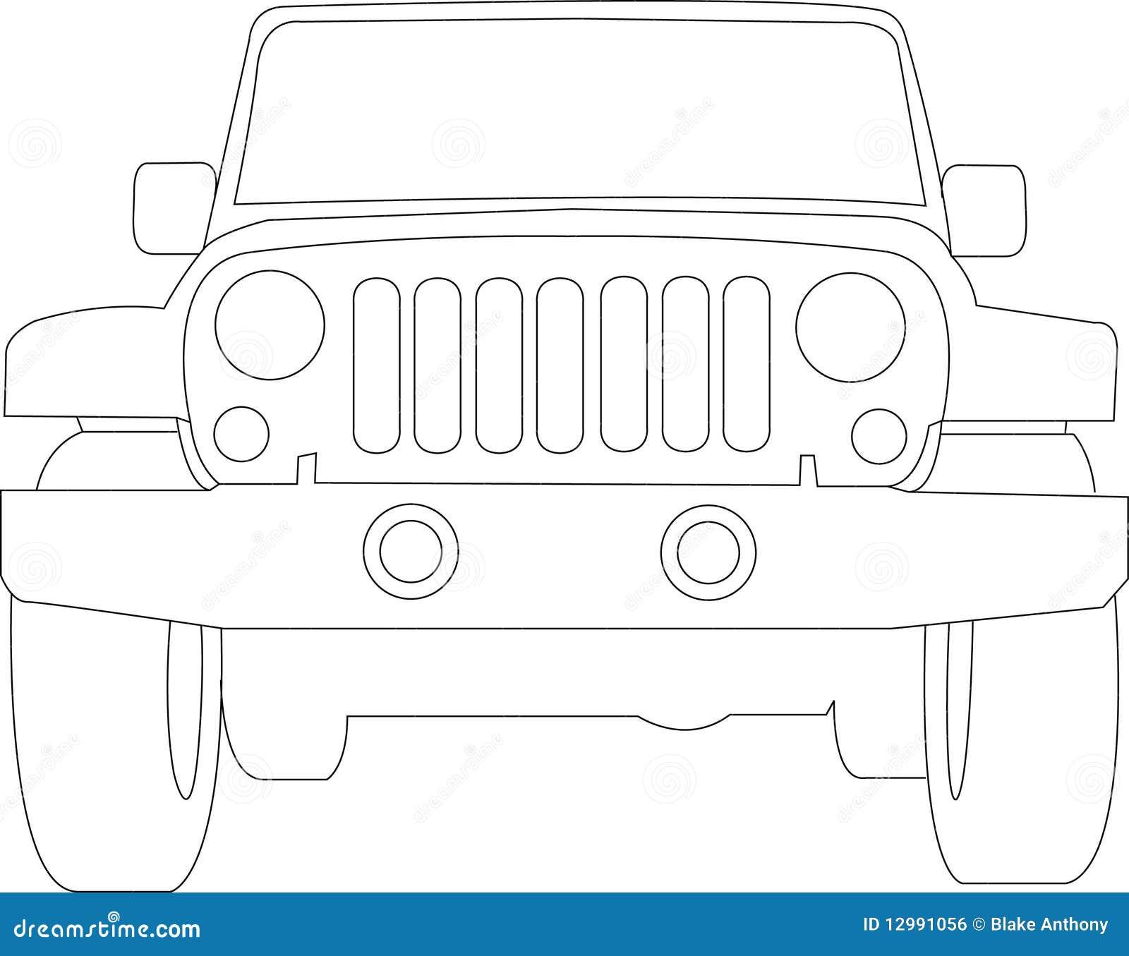 Outline  Chevy Truck Back  Door Car