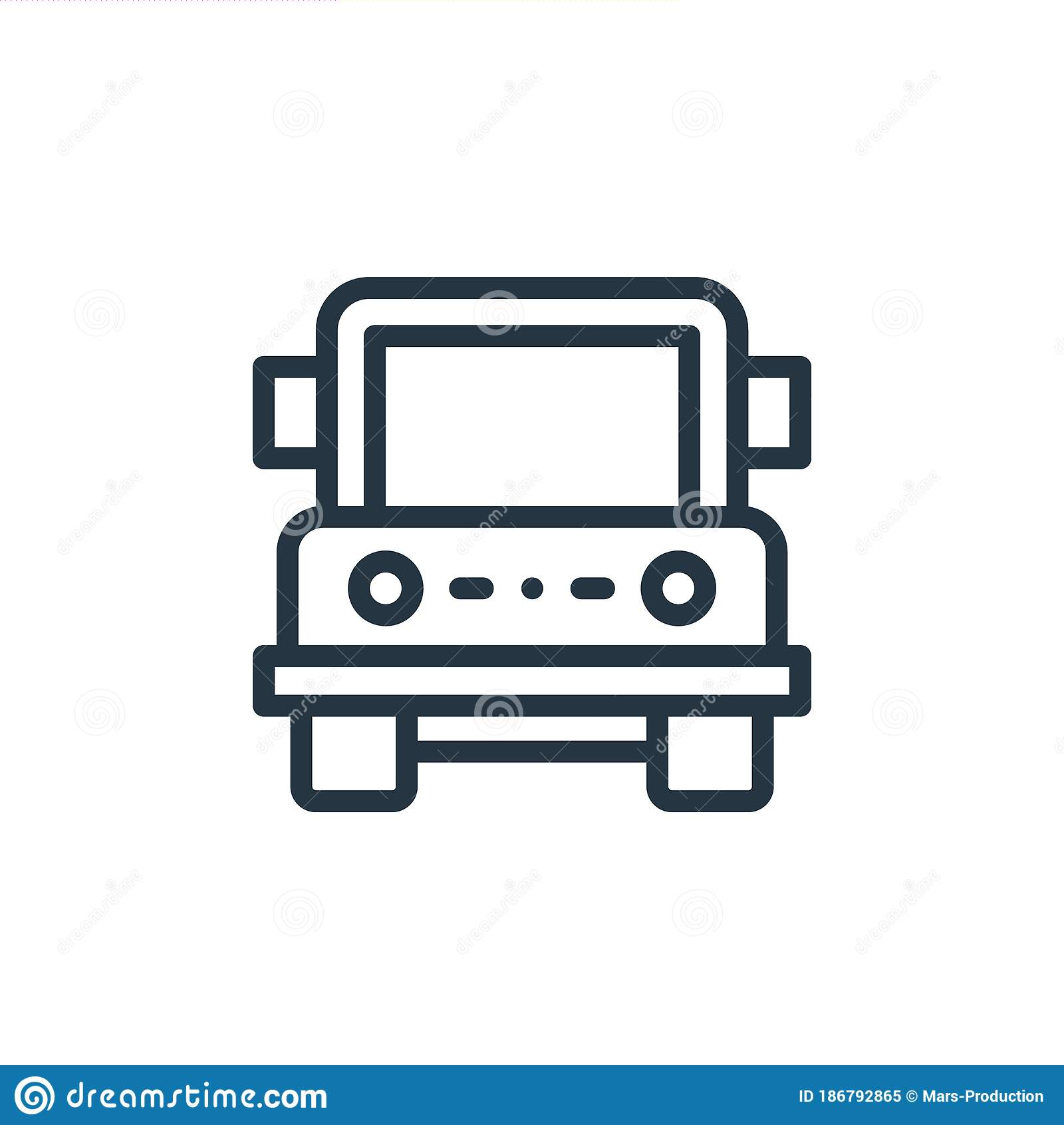 Jeep Vector Icon Jeep Editable Stroke Jeep Linear Symbol For Use On Web And Mobile Apps Logo Print Media Thin Line Stock Vector Illustration Of Machine Safari 186792865