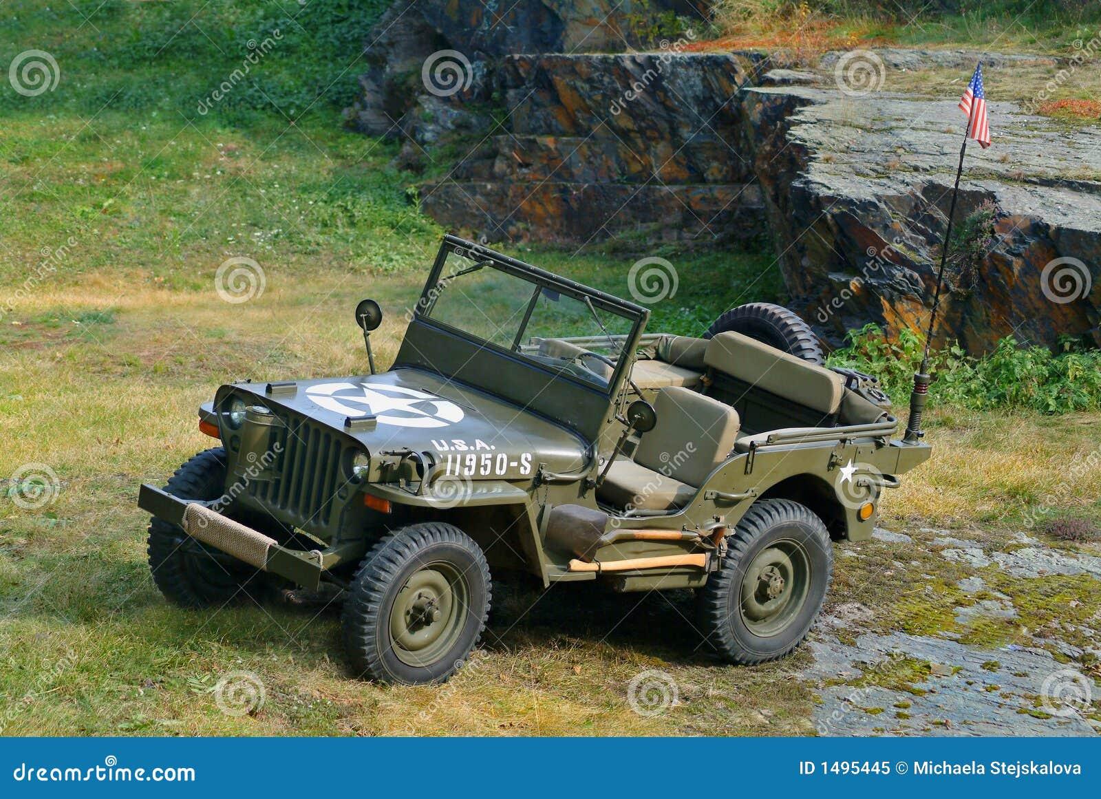 jeep willys 1944 photo libre de droits image 1495445. Black Bedroom Furniture Sets. Home Design Ideas