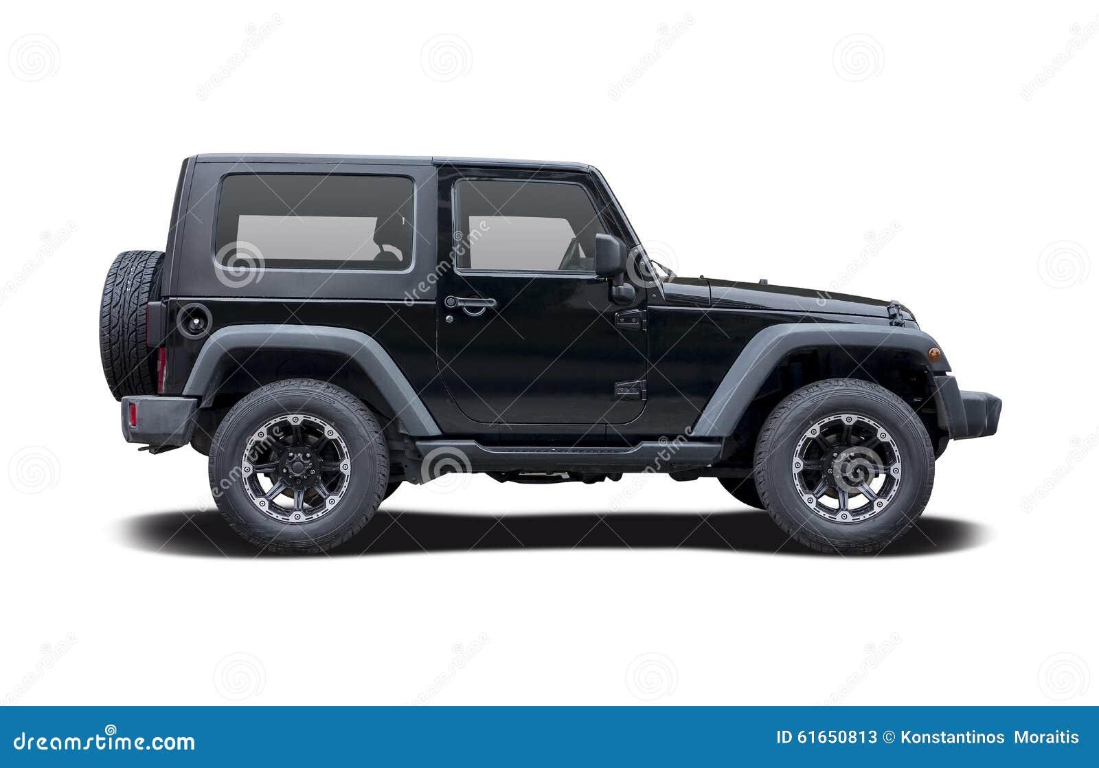 jeep wrangler sport stock image image of wrangler, black 61650813 Customed Jeep Wrangler Side View