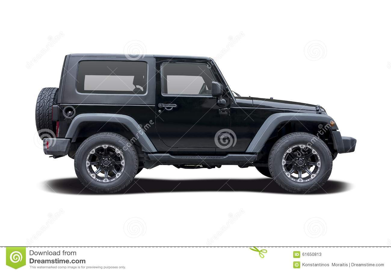 Jeep Wrangler Sport Stock Photo Image 61650813