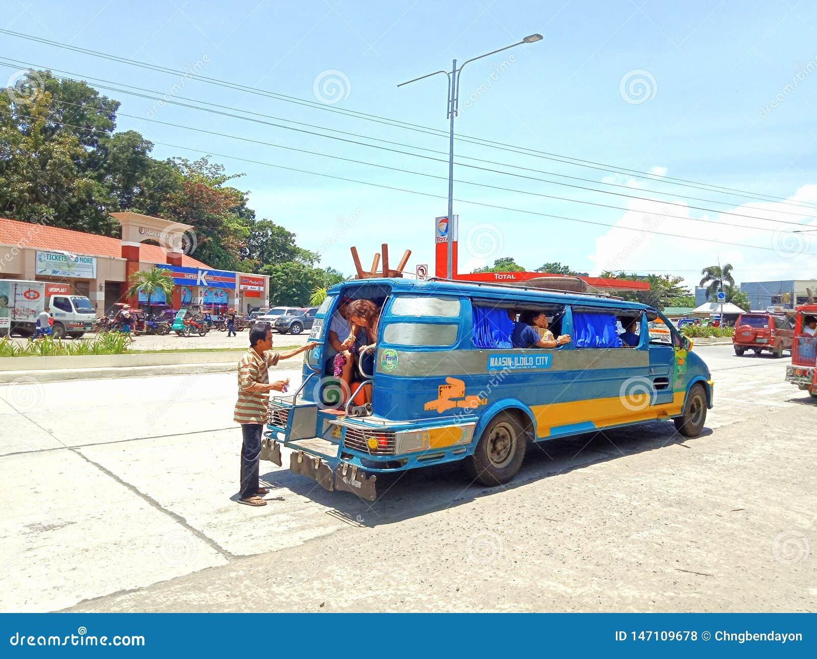 Jeepneytranspo in Iloilo-Provincie
