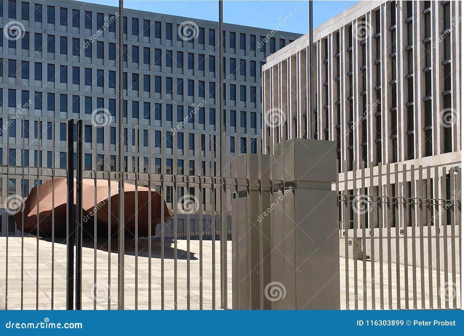 Jefaturas del BND en Berlín - Alemania