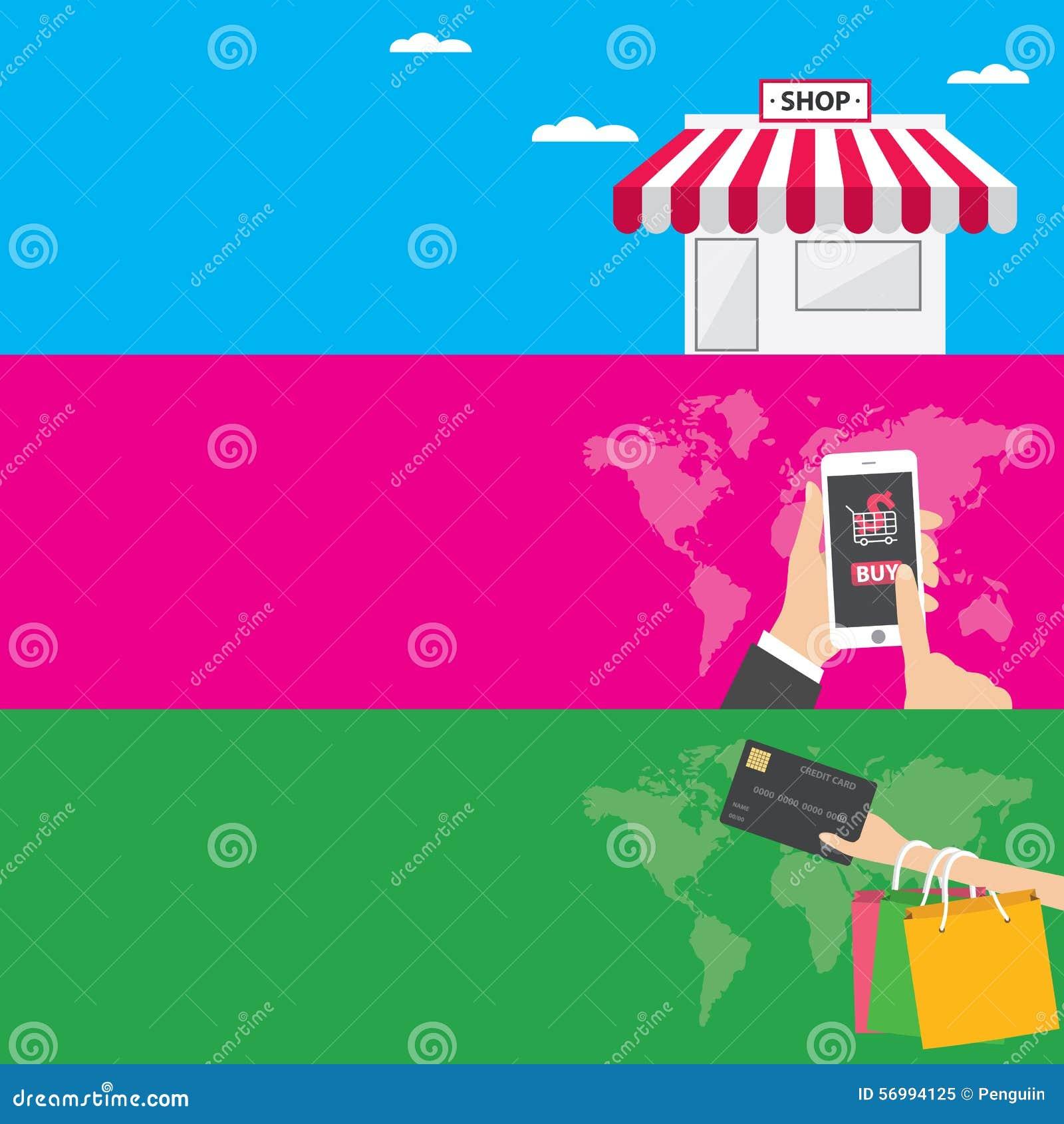 Jefes Del Sitio Web O Plantillas De Las Banderas De La Promoción El ...