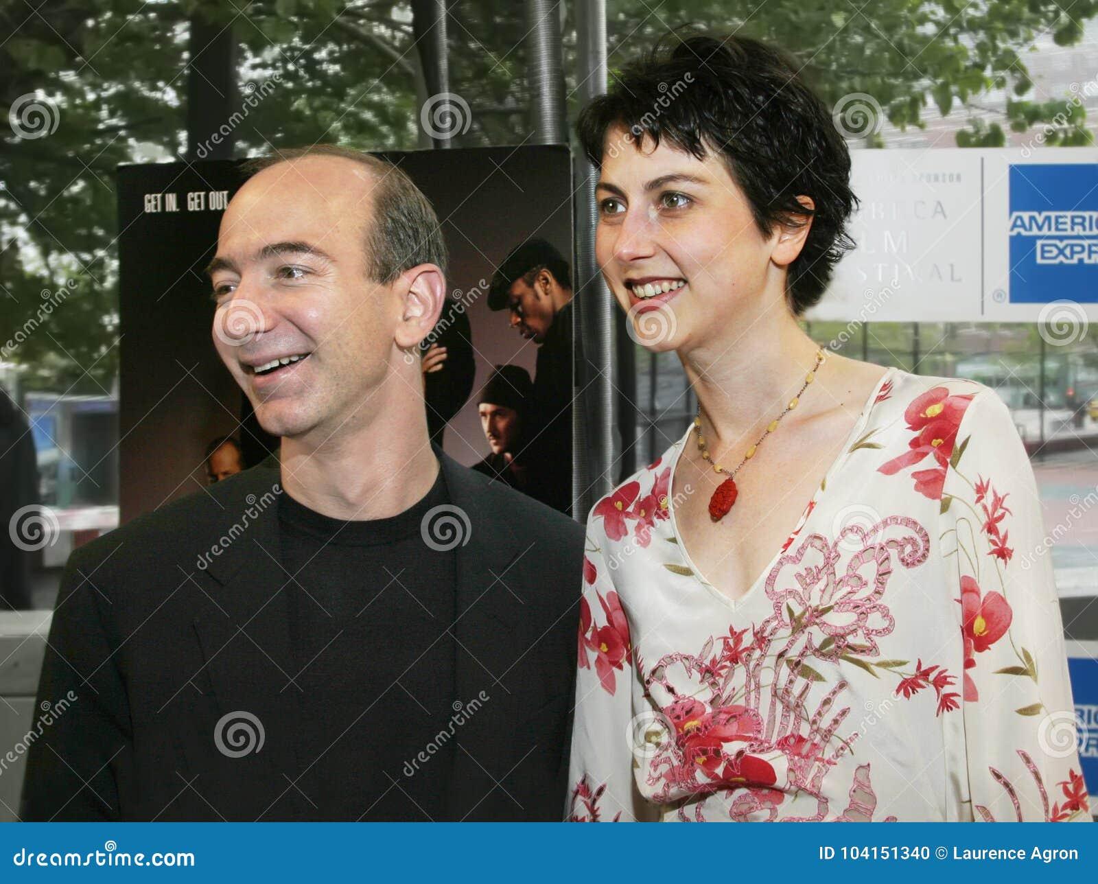 Jeff Bezos And Mackenzie Bezos Editorial Image Image Of Investor