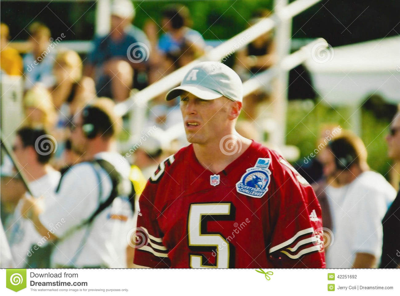 In the zone tv covers jeff garcia's pass it on foundation event