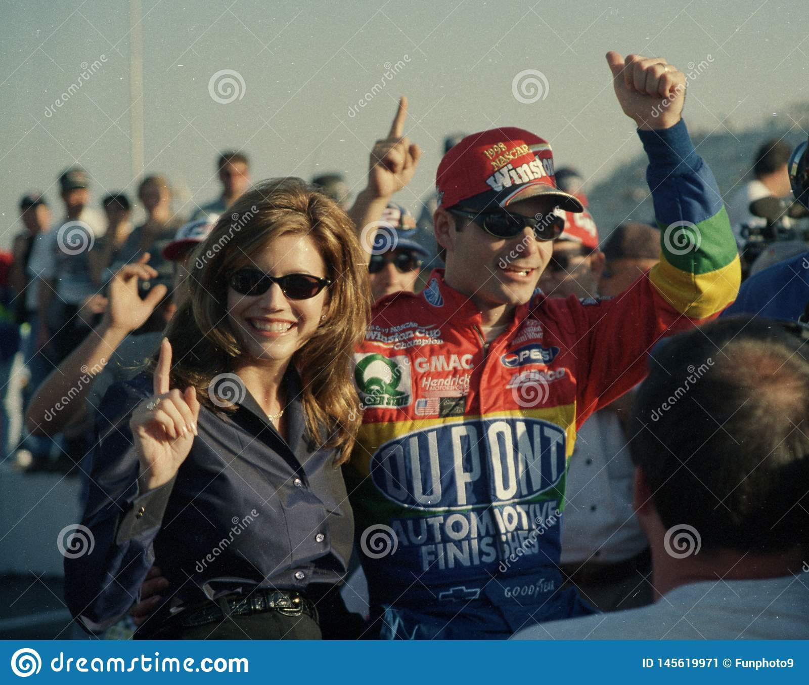 Jeff Gordon Wins 1998 Nascar Championship Editorial Photo Image Of Driver Dupont 145619971