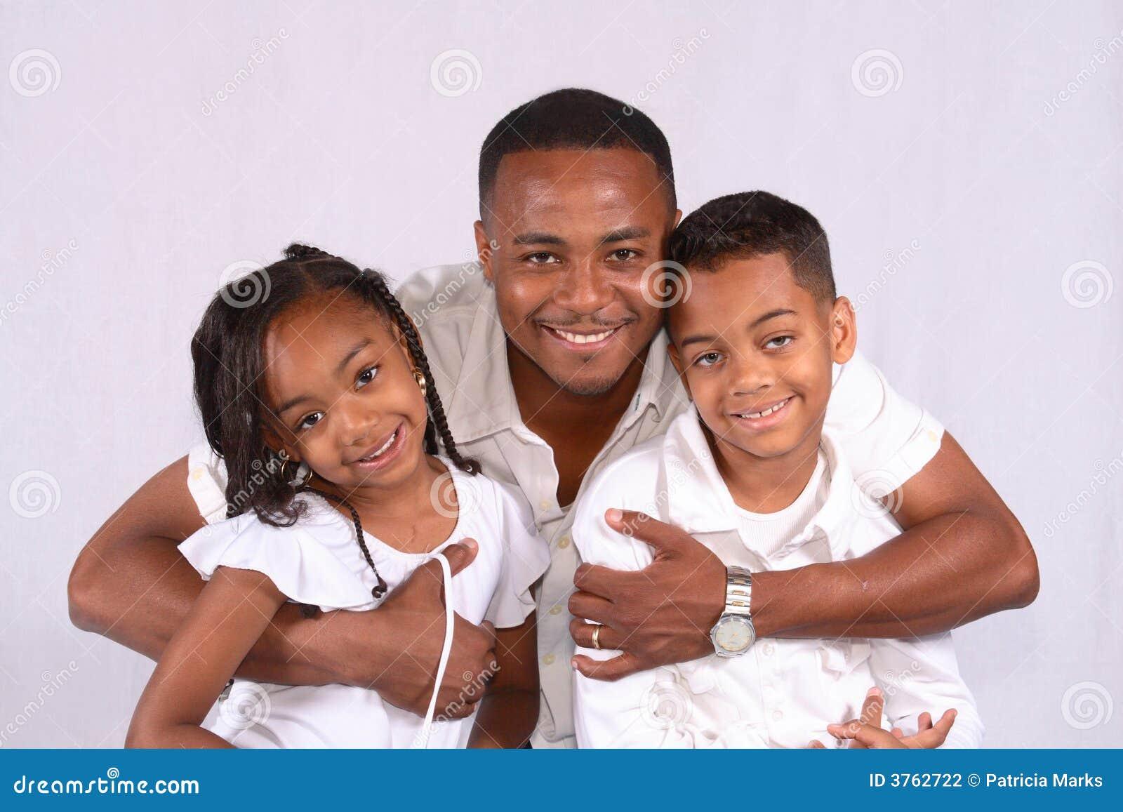 Jego dzieci huging ojcze