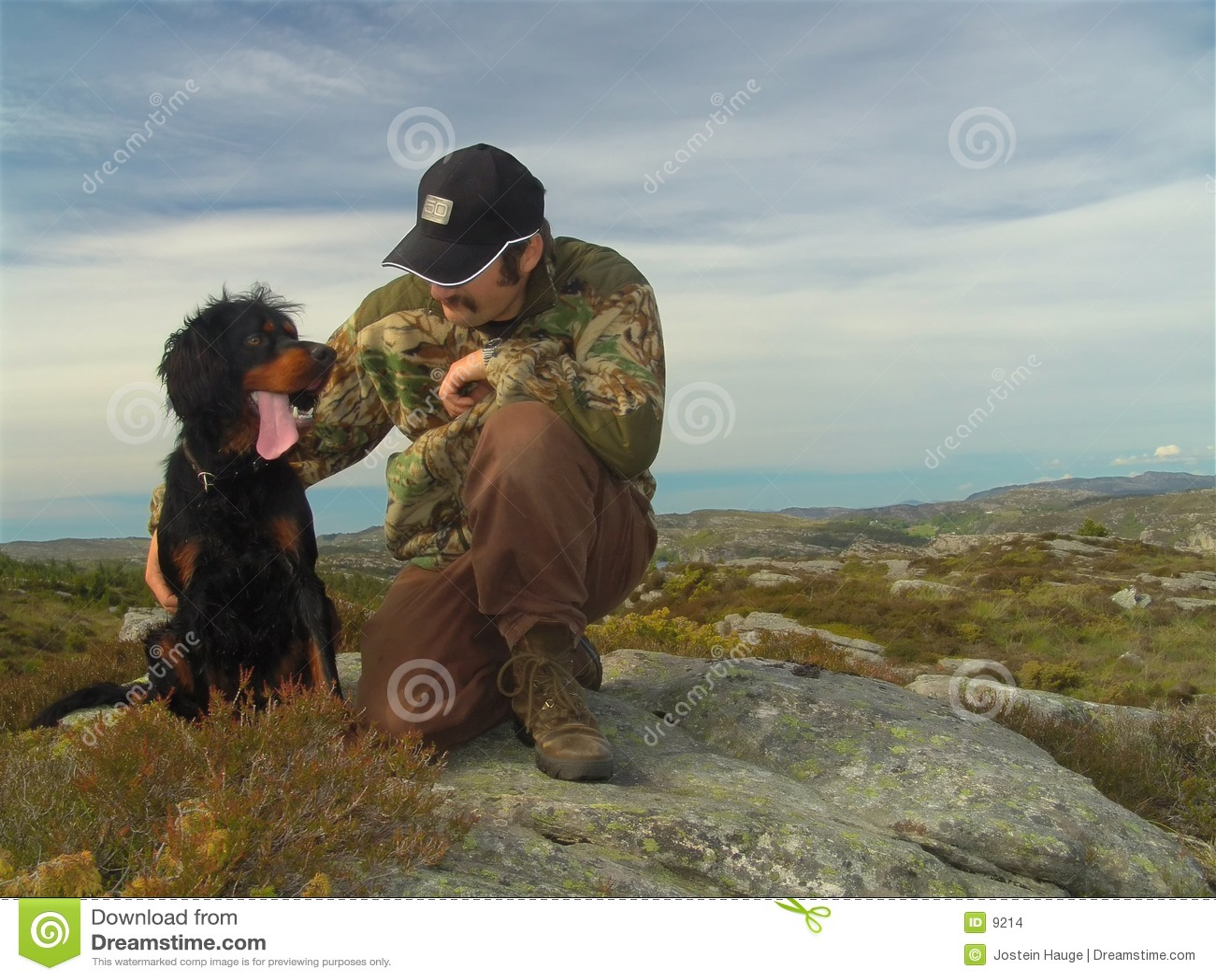 Jego psa myśliwego