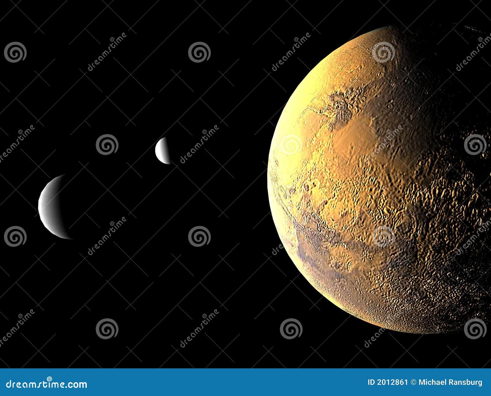 Jej księżyc mars 2