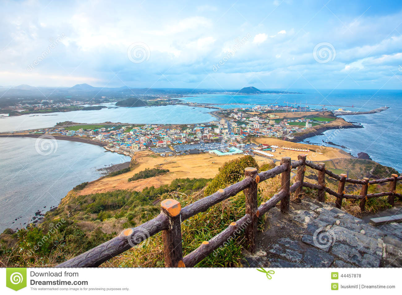 Jeju Do Beach Island, South Korea Stock Photo  Image: 44457878