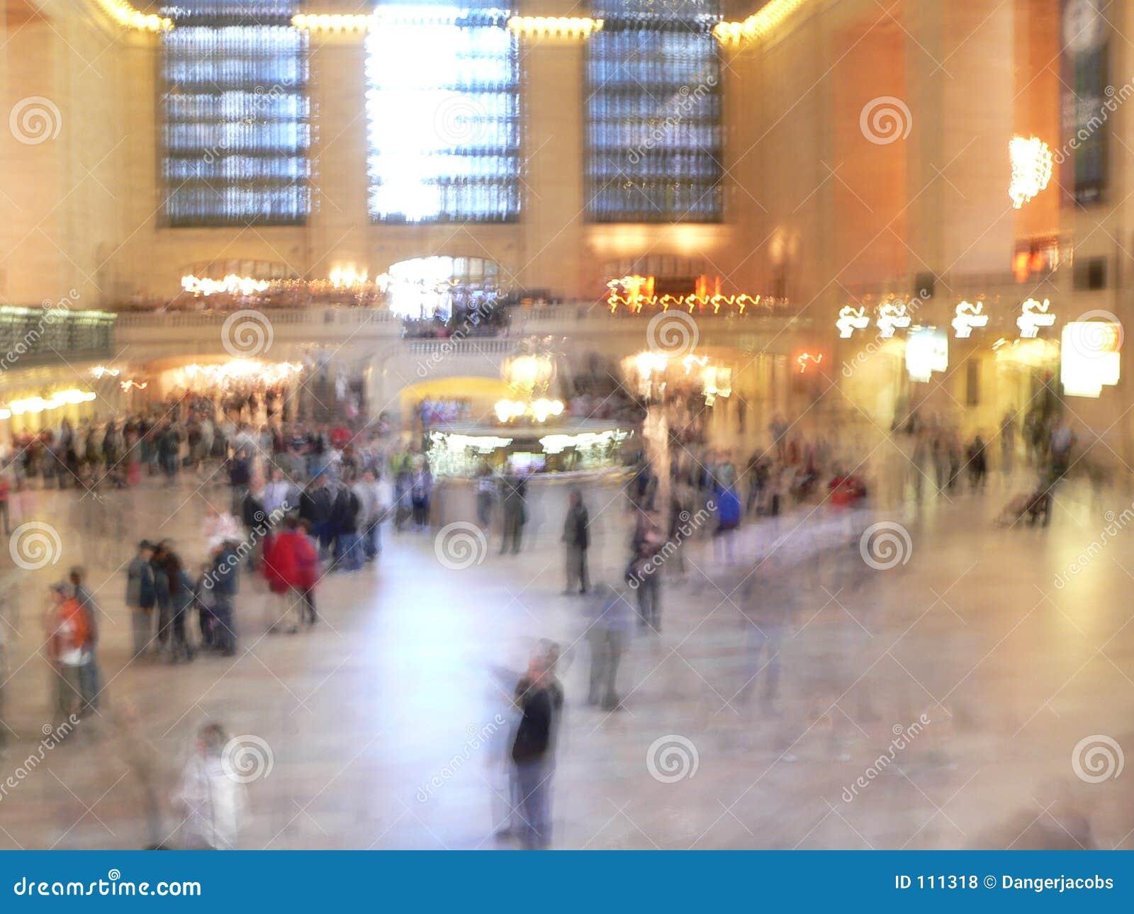 Jejua o terminal central grande passeado, New York City