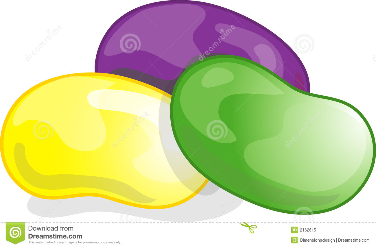 Jelly Bean Clip Art Jelly beans