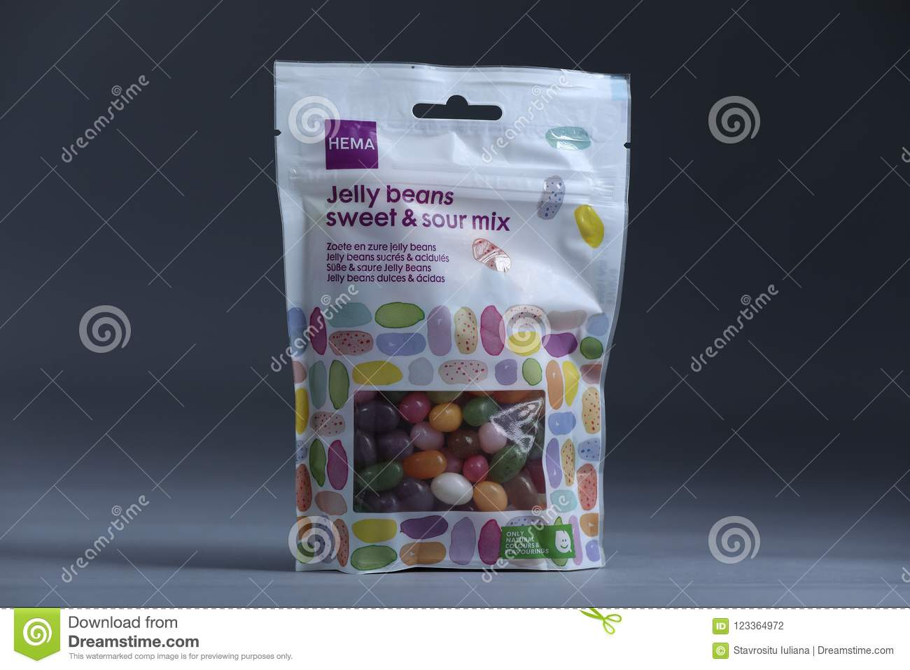 Jelly Beans From Hema, Dutch Store, Isolated Editorial