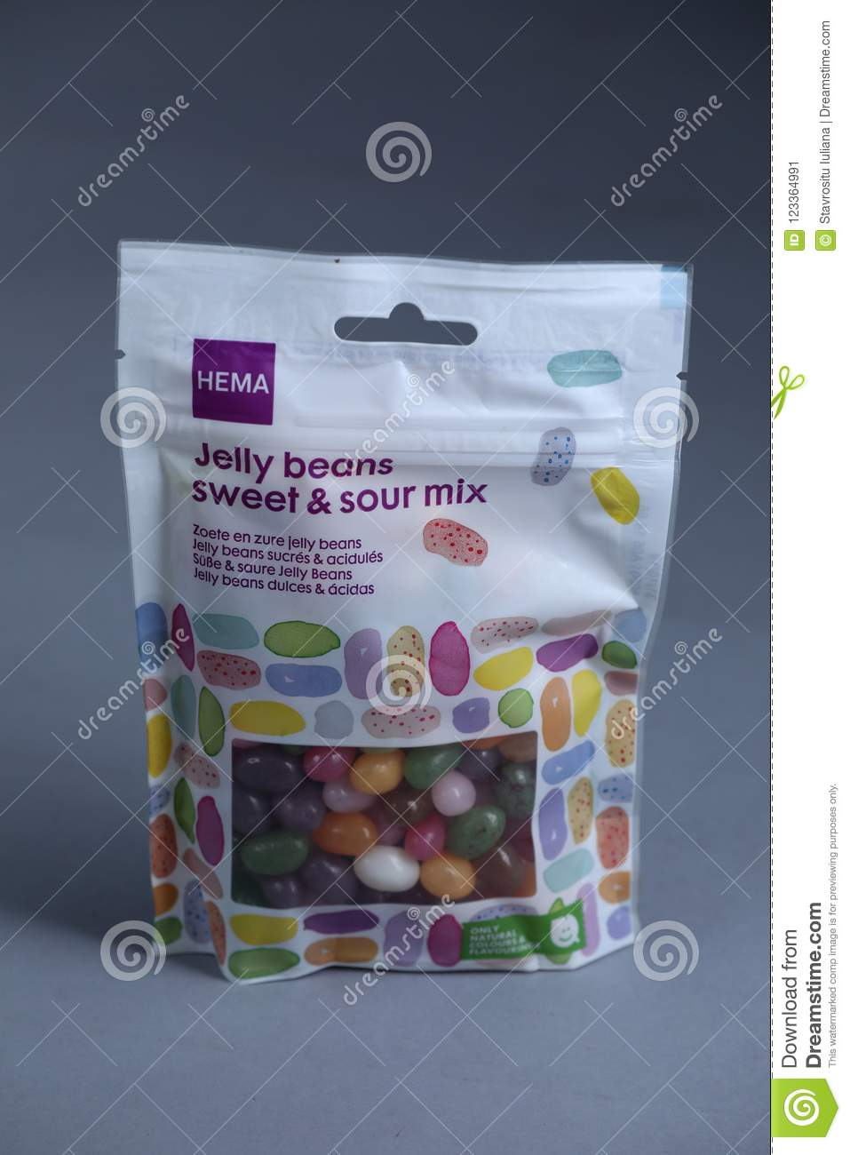 Jelly Beans From Hema, Dutch Store, Isolated Editorial Photo