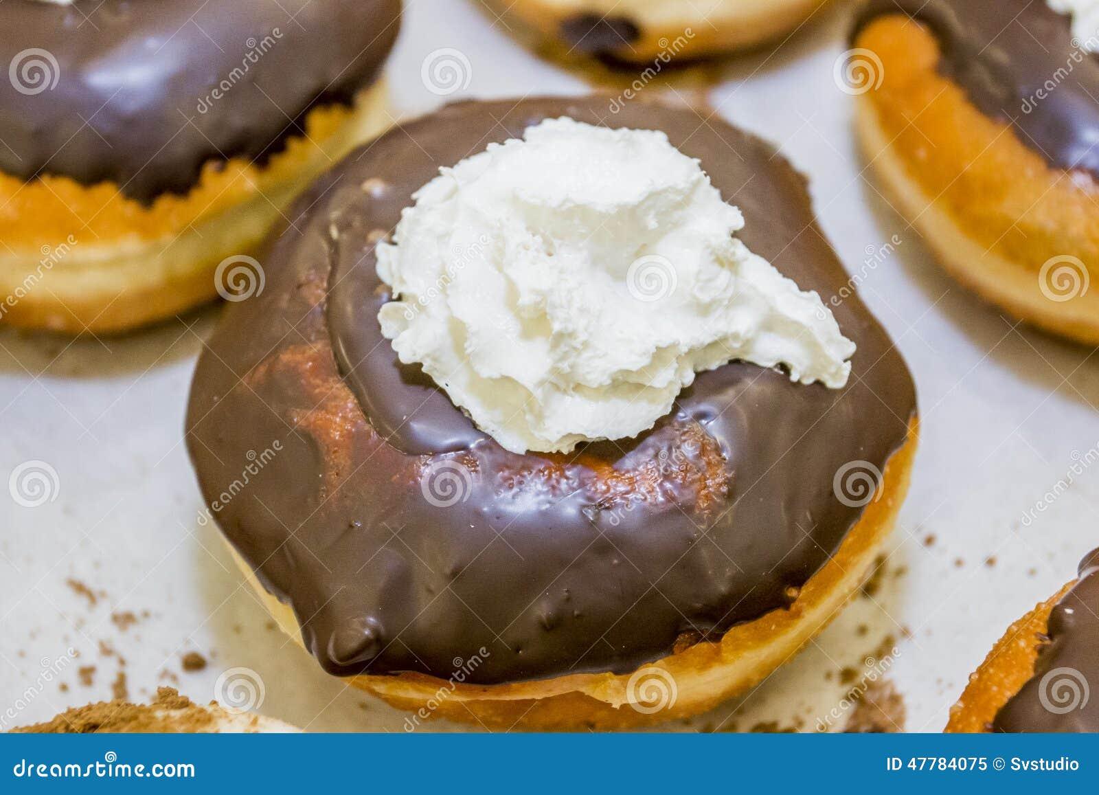 Jelly Doughnut / Sofgania - Jewish Holiday Hanukkah Stock Photo ...