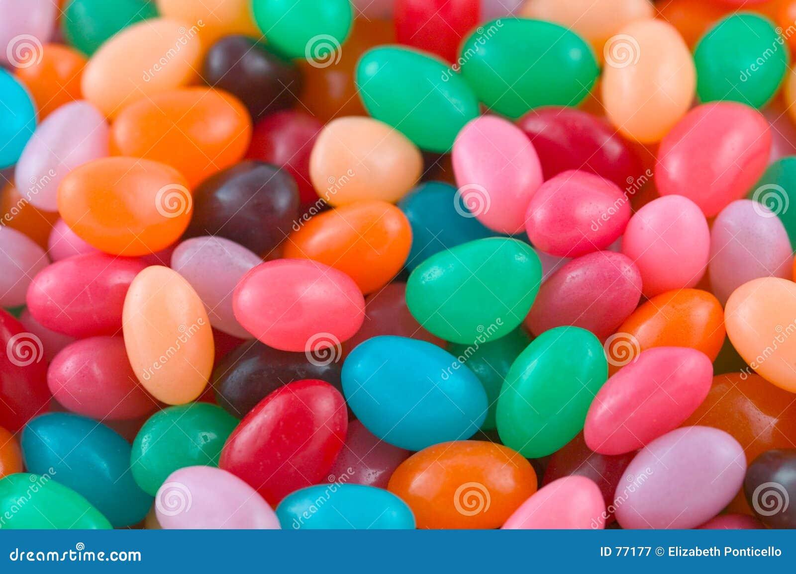 Jelly fasoli tło
