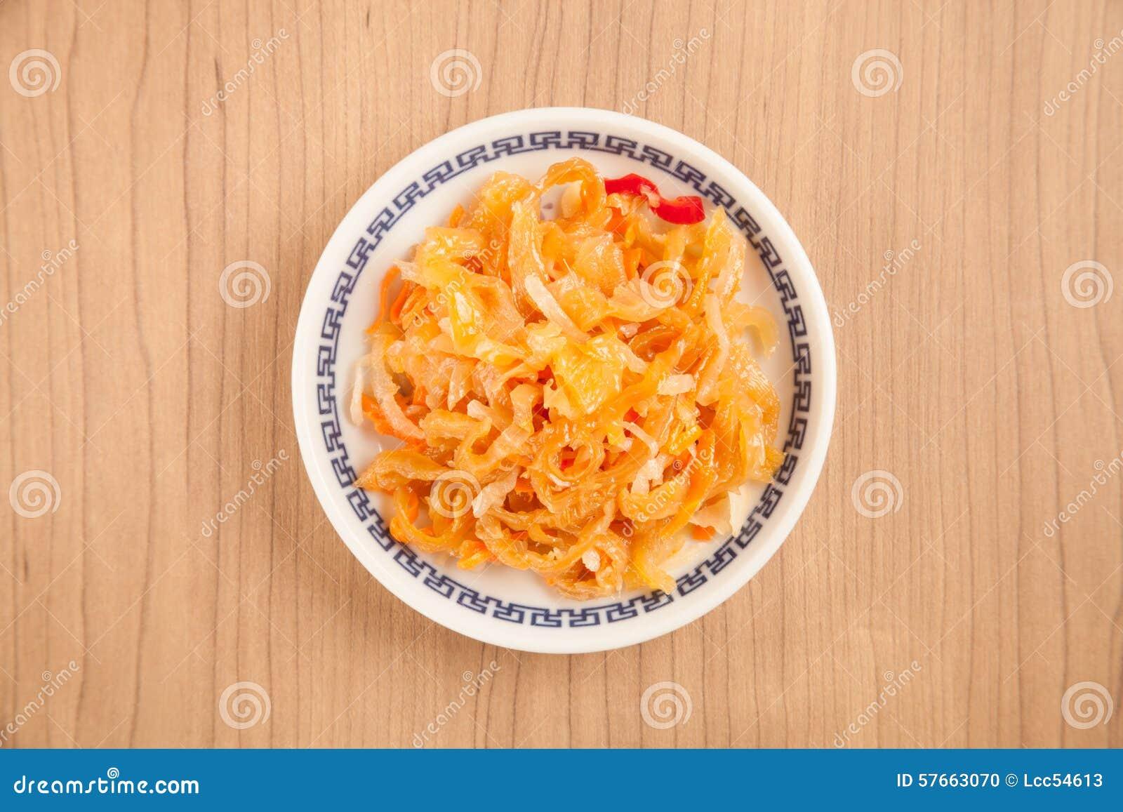 Jellyfish sałatka