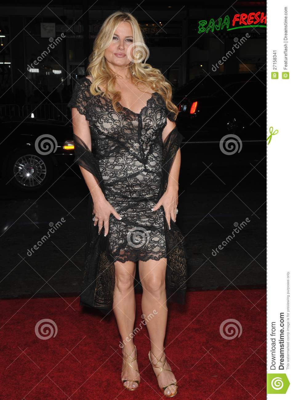 "screening of her new movie ""Bad Lieutenant: Port of Call New Orleans ..."