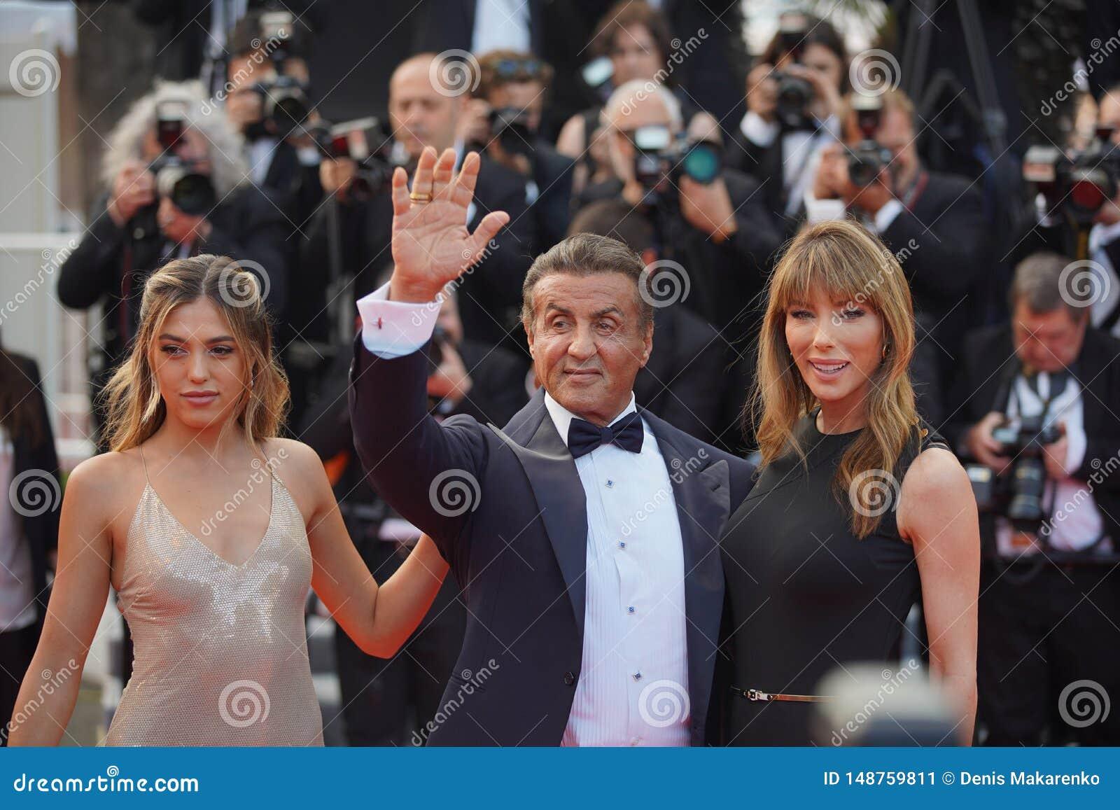 Jennifer Flavin, Sylvester Stallone y Sistine Rose