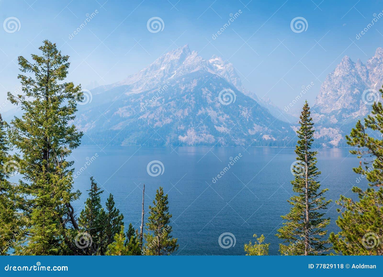 Jenny Lake in Grand Tetons