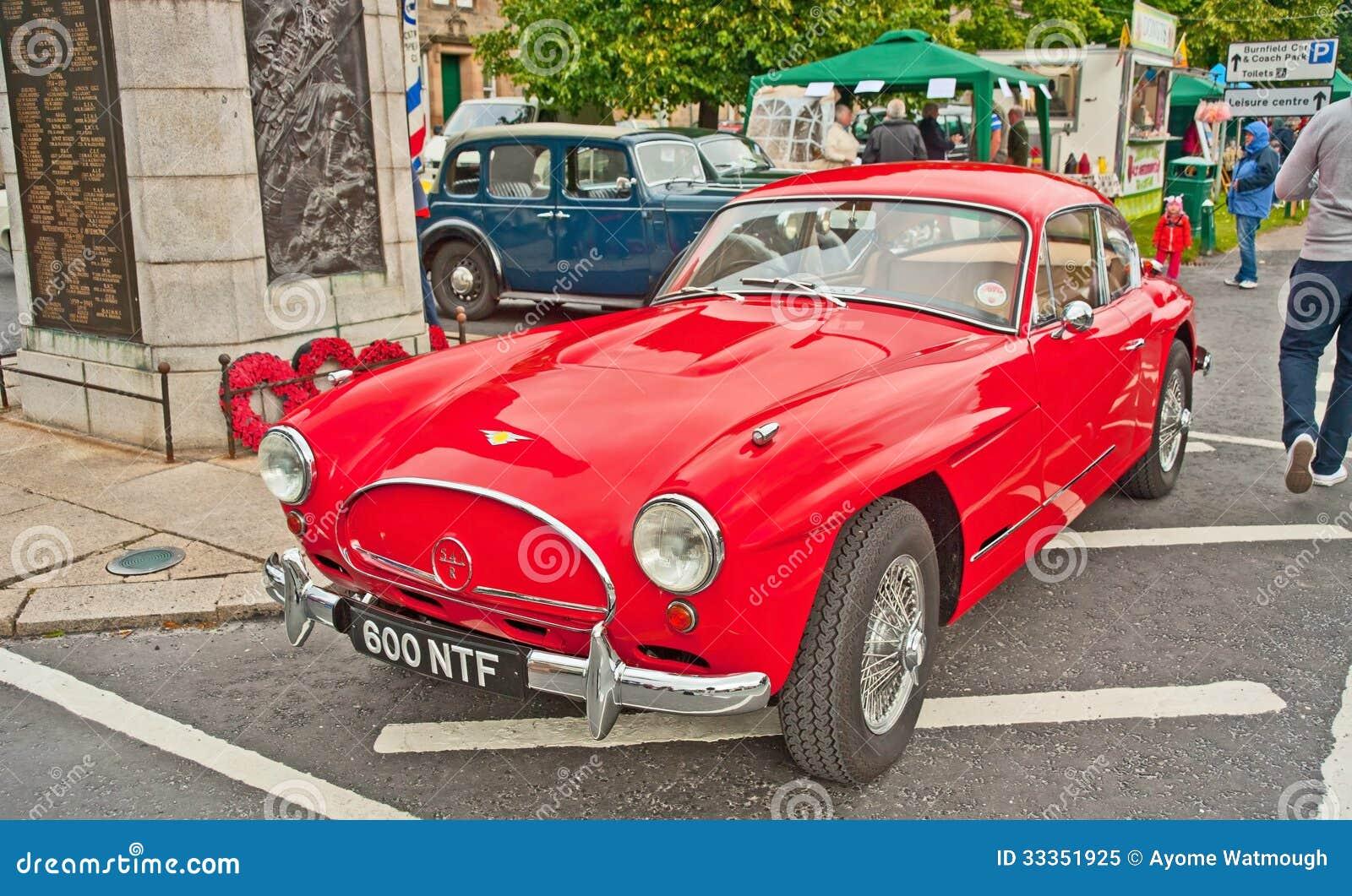 Jensen sports car
