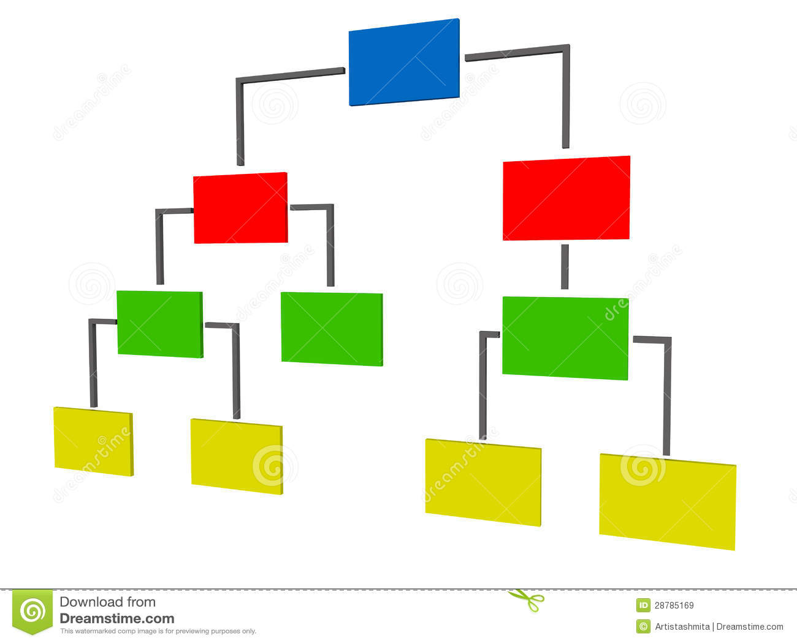 Jerarquía en color vivo