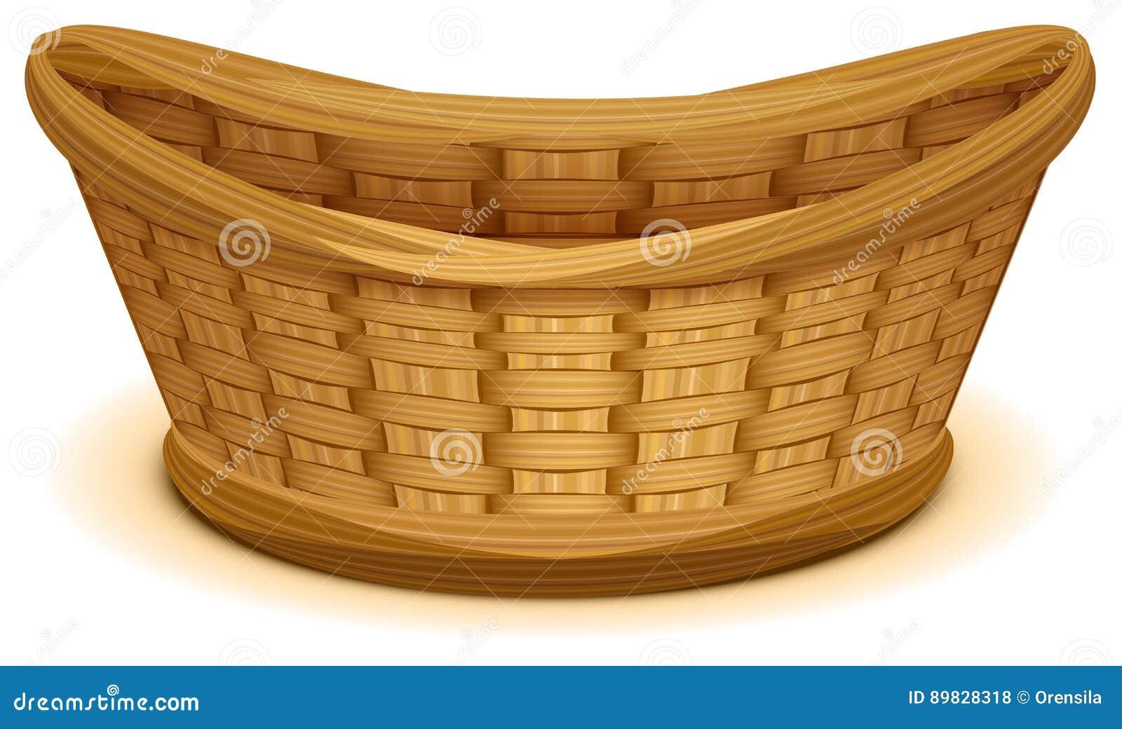 Jerarquía vacía de la cesta de mimbre