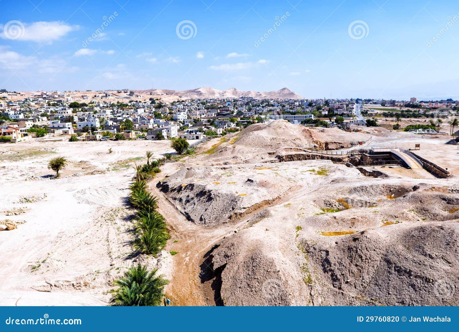 Jericó, ciudad de palmeras