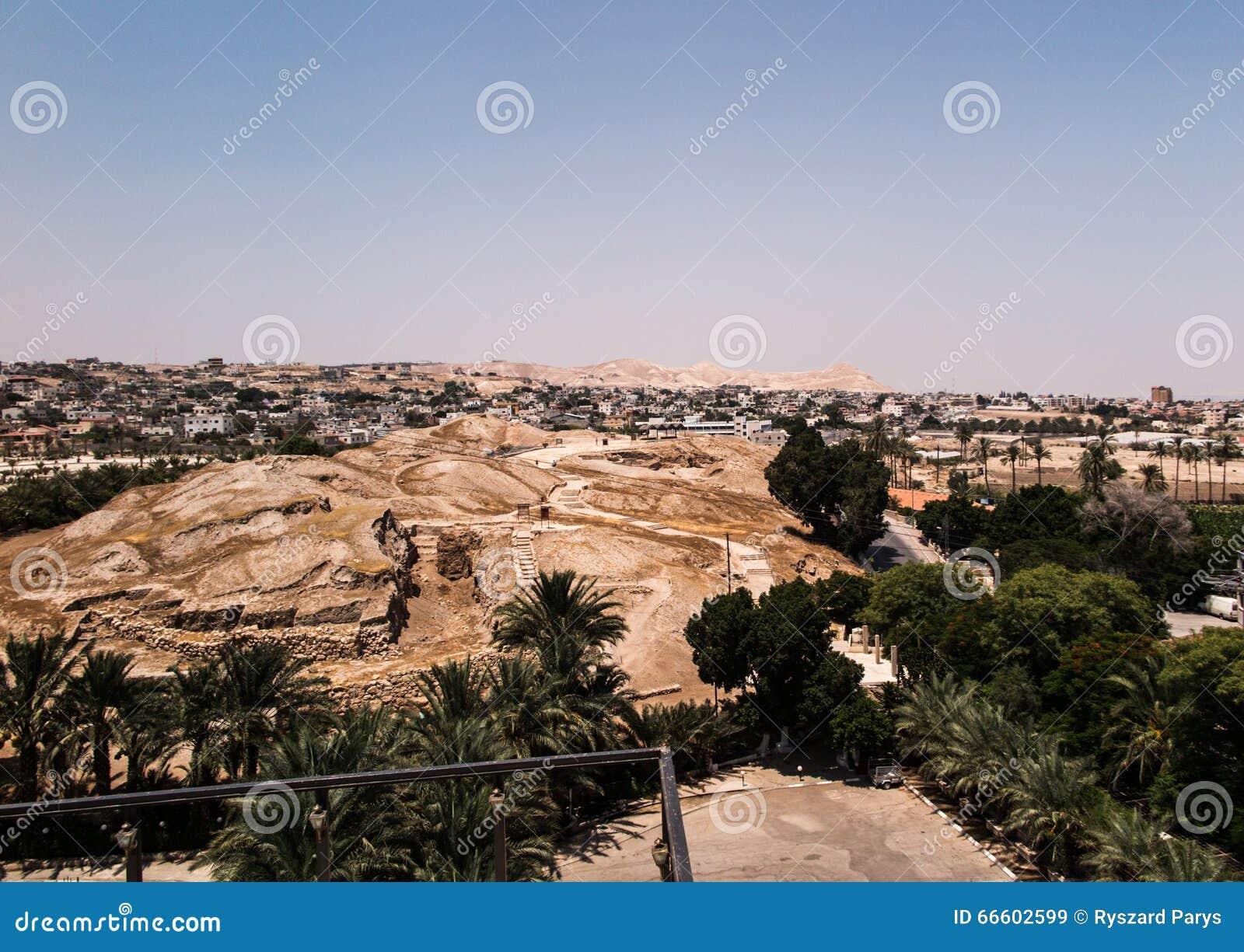 Jericó es una ciudad palestina situada cerca de Jordan River en t