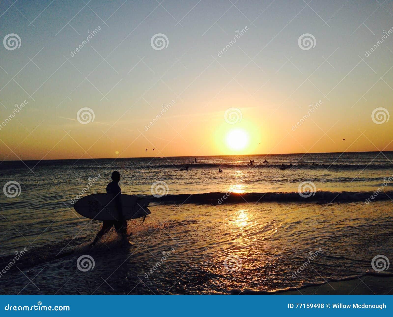 Jericoacoara, coucher du soleil du Brésil