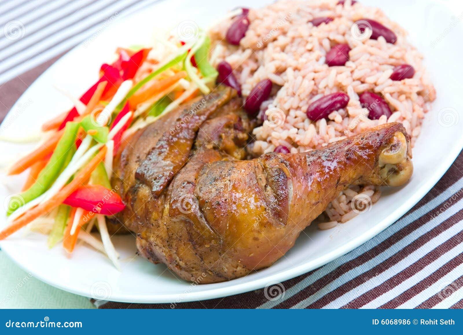 Chicken, Caribbean-Style