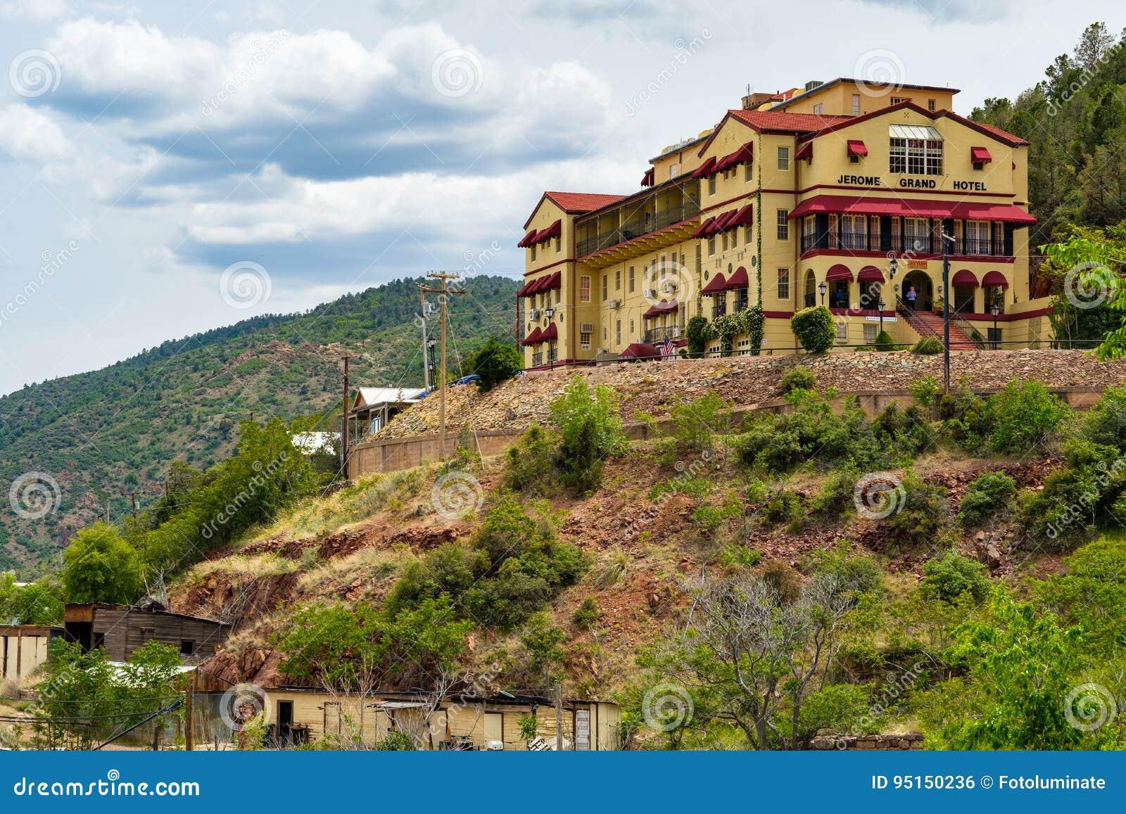 Jerome Grand Hotel Redaktionelles Foto Bild Von Verde 95150236