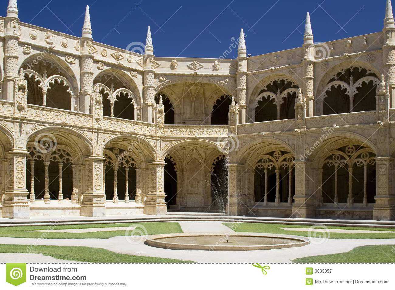 Cloisters of the Monastery of Saint Bernard de Clairvaux (North ...