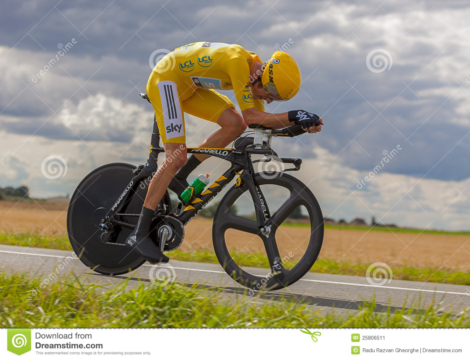 Jersey amarela Bradley Wiggins