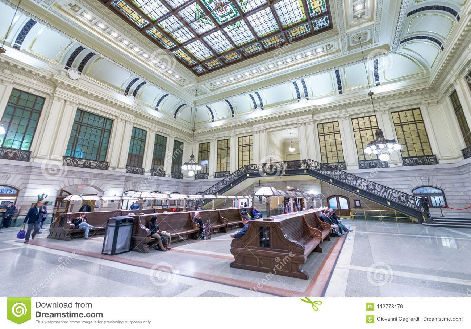 jersey city october 20 2015 interior of hoboken train station rh dreamstime com