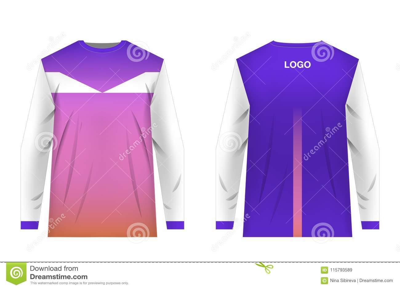 Jersey design sportwear stock illustration. Illustration of cloth ... 4e0d86a13
