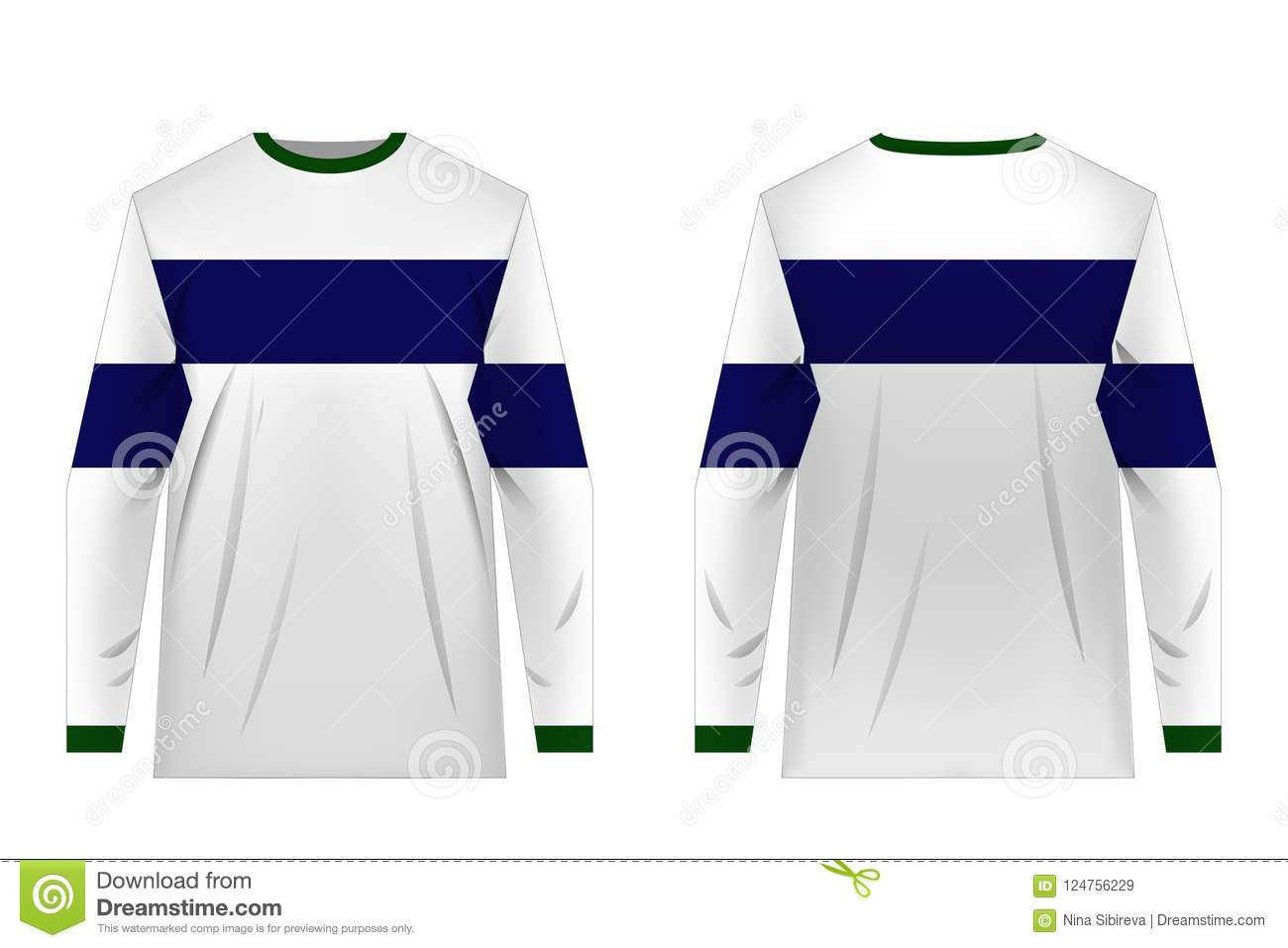 Jersey Design Templates Stock Vector Illustration Of Extreme