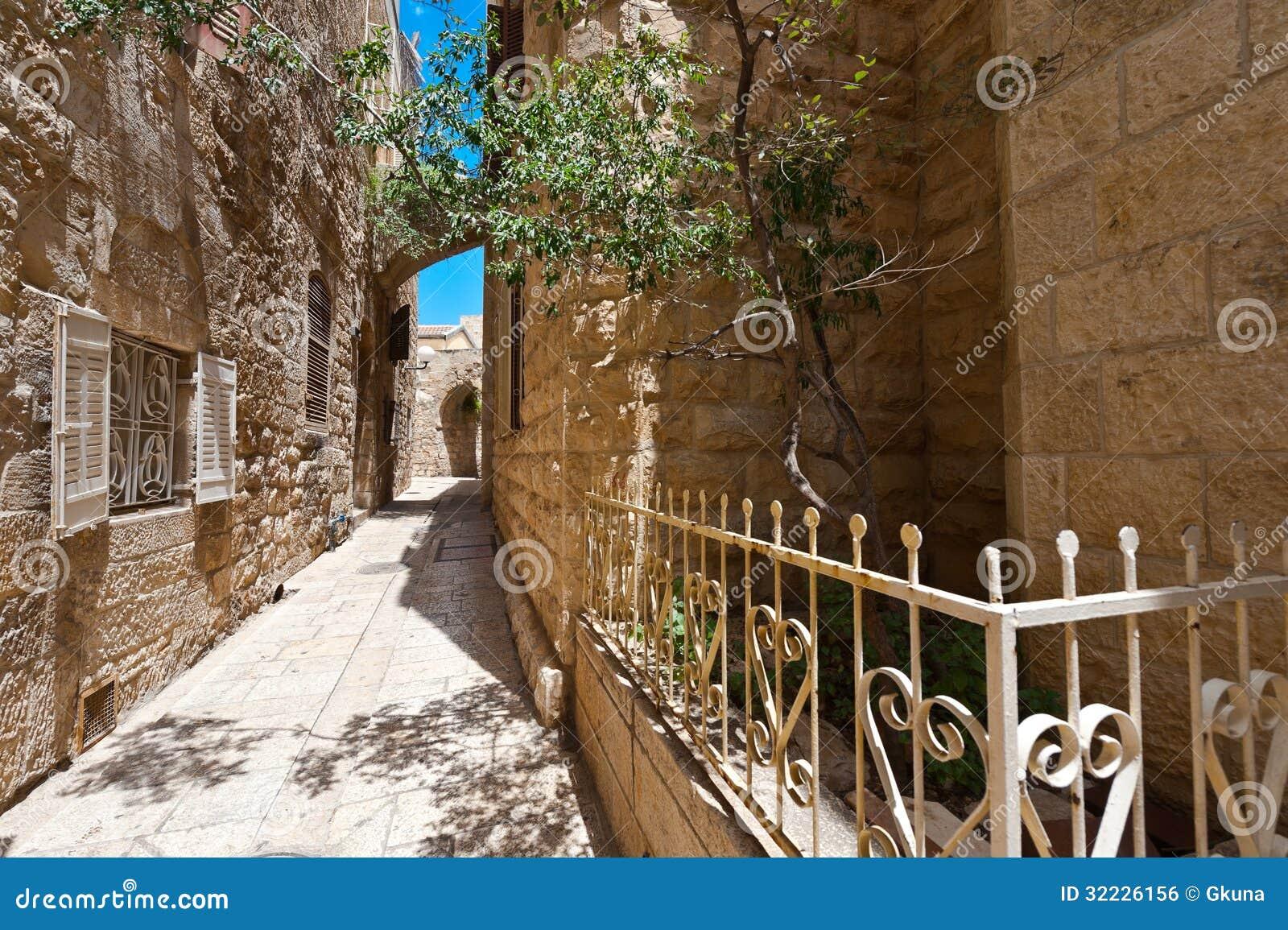 Download Jerusalém foto de stock. Imagem de medieval, envelhecido - 32226156