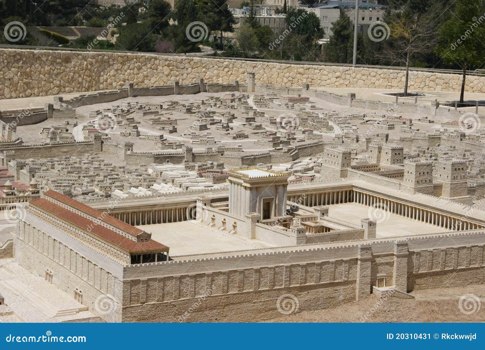 Jerusalem świątynia drugi