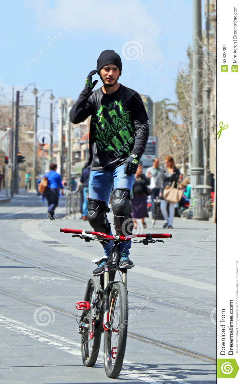 Image result for standing on bicycle