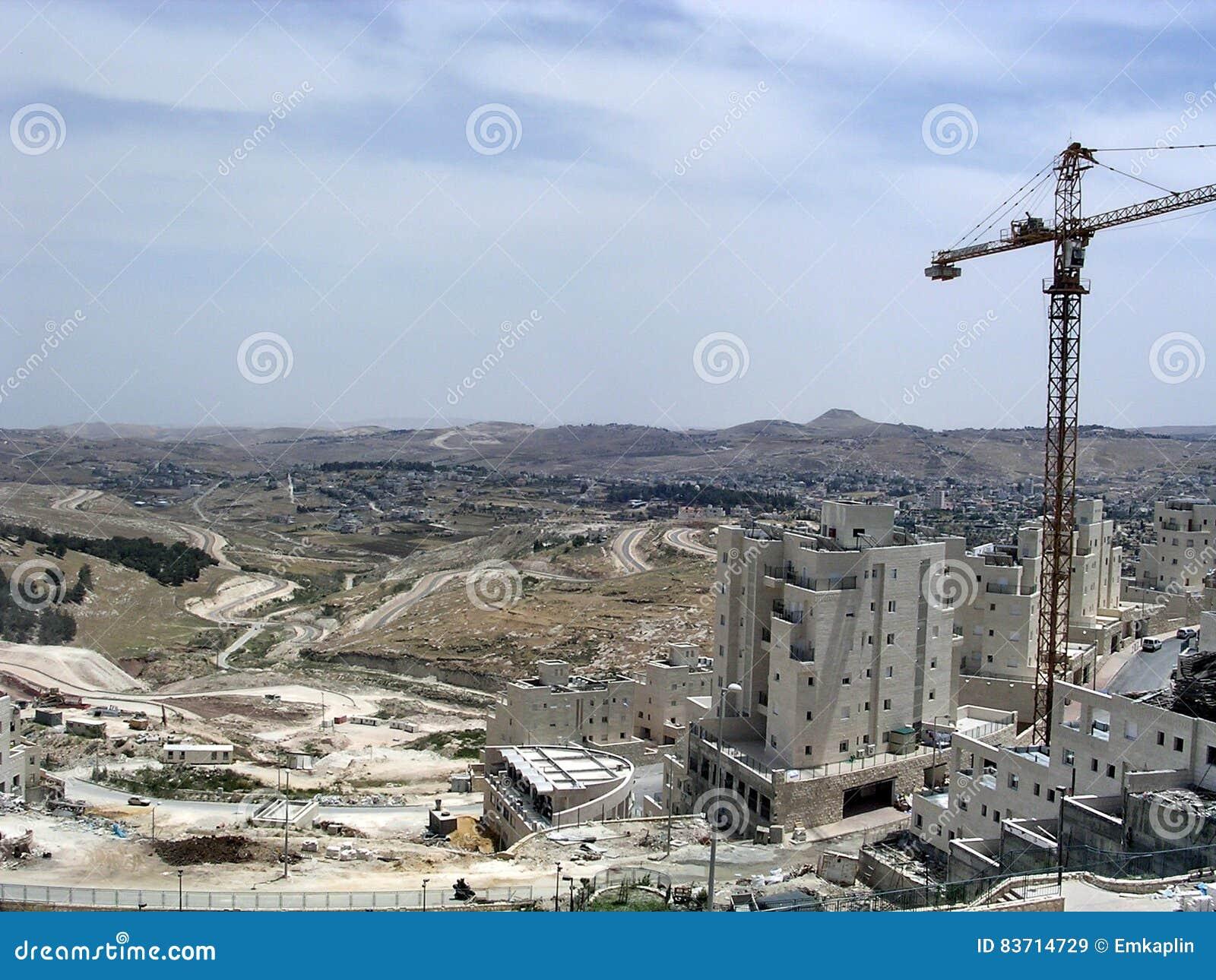 Jerusalem Har Homa May 2005 Stock Photo