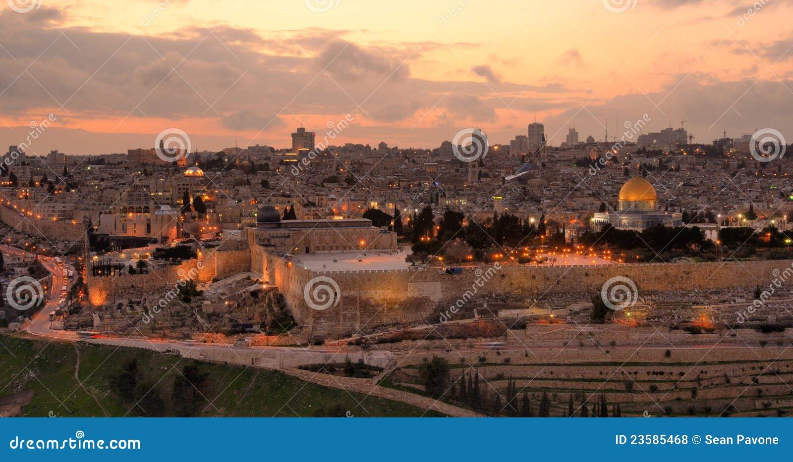 Jerusalem horisont